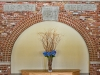 The original reconstructed Post Office arch that now stands inside Brick Arch Winery