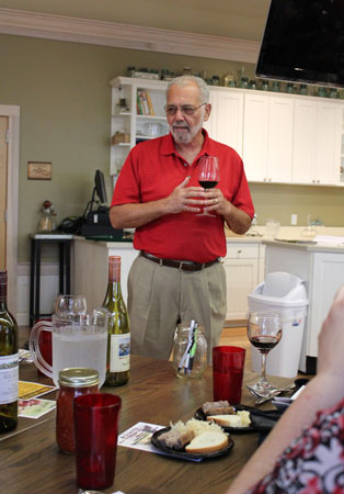 Tony Kooyumjian, owner of Augusta and Montelle Wineries, located in Augusta, Missouri, explains how he creates his Chambourcin.