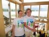 Carrie Hanson and Kathy Wessell of Leelanau Cellars
