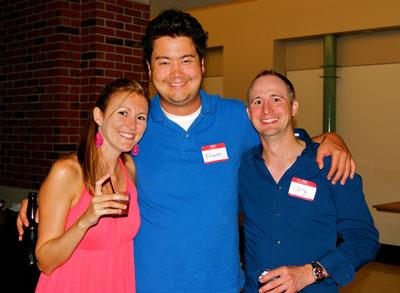 Audrey Walker of Drink Michigan, Frank Mathias, Cory Glander