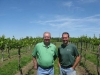 Heimann Vineyard Owners Dan Duncan and Ryan Heimann